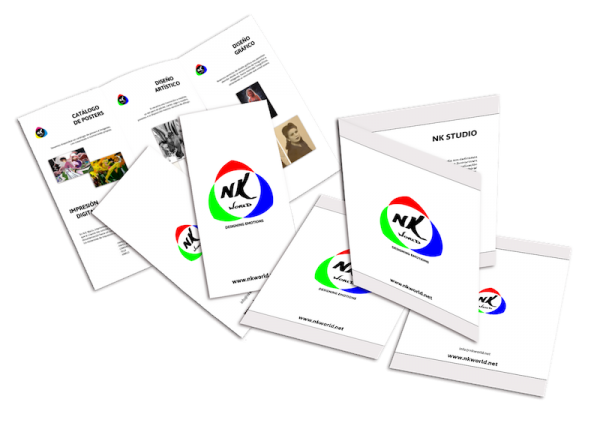 Flyers & Brochures. NK WORLD