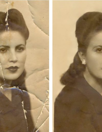 GRAPHIC DESIGN. PHOTO RESTORATION