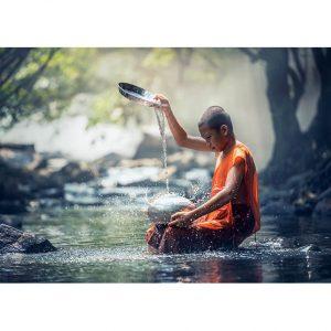 Ancient Meditation Photo Poster. NK WORLD