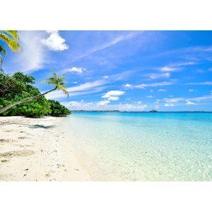 Tropical Beach Photo Poster. NK WORLD