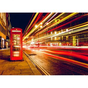 London Telephone Box Photo Poster. NK WORLD