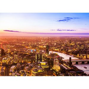 View of London Photo Poster. NK WORLD