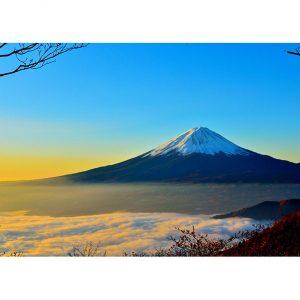 Mount Fuji Photo Poster. NK WORLD