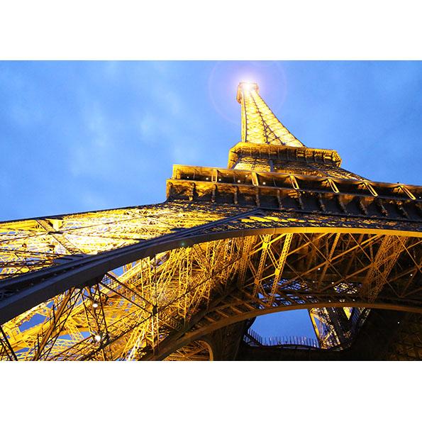 Eiffel Tower Photo Poster. NK WORLD