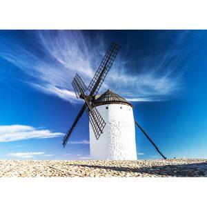 "Mill of ""La Mancha"" Photo Poster. NK WORLD"