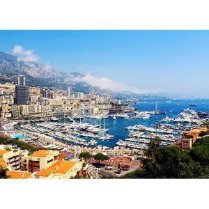Monaco Photo Poster. NK WORLD