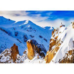 Snow Mountains Photo Poster. NK WORLD