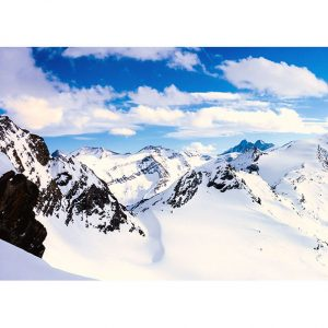 Mountains of the Alps Photo Poster. NK WORLD