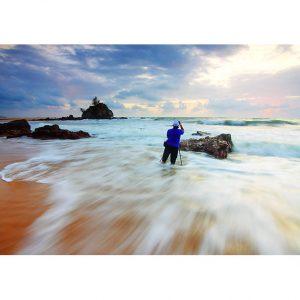 Beach Photo Poster. NK WORLD