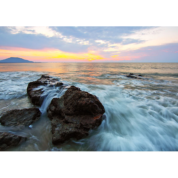 Sea Sunset Photo Poster. NK WORLD