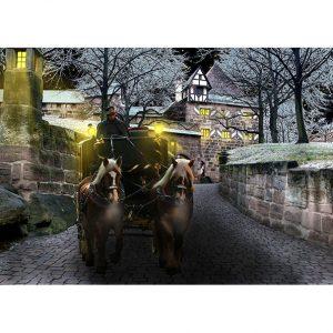 Medieval Castle Entrance Photo Poster. NK WORLD