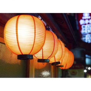 Asian Lanterns Photo Poster. NK WORLD