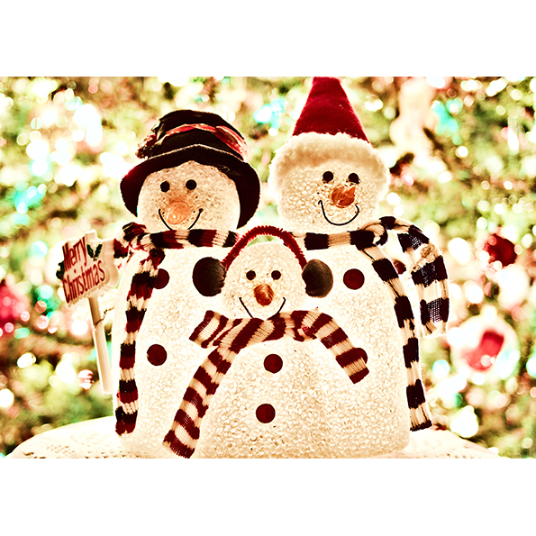 Snowmans. Christmas Posters and Postcards. NK WORLD.